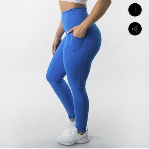 BuffBunny Luna leggings In Indigo